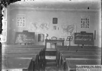 NN018 (garwolin.org) |Szkoła w Uninie. Klasa w środku.